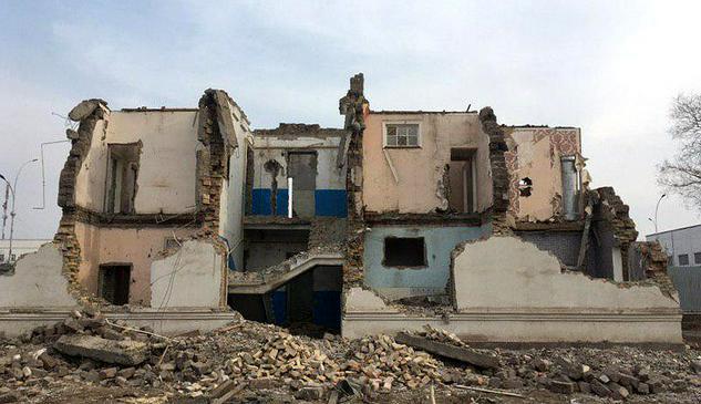 Смерть на руинах