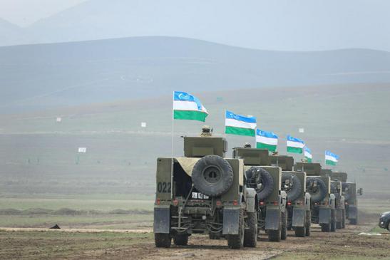Военные учения с заложниками, энергия солнца в Узбекистане и нефтяной шторм для Казахстана