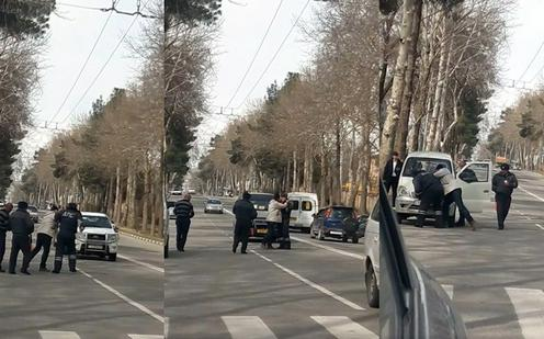 В Таджикистане завели уголовное дело против обматерившего сотрудника ГАИ водителя