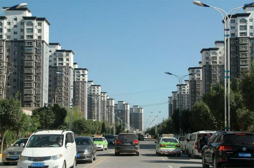 Новые многоквартирные дома. Фото Herman Kreuzmann