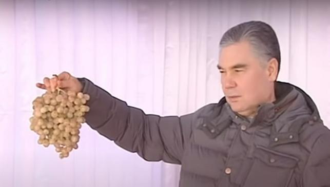 Бердымухамедову показали подсобные хозяйства в военных частях