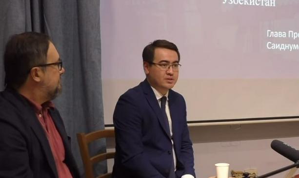 Встреча с представителем Агентства по трудовой миграции Узбекистана в «Доме Ферганы»