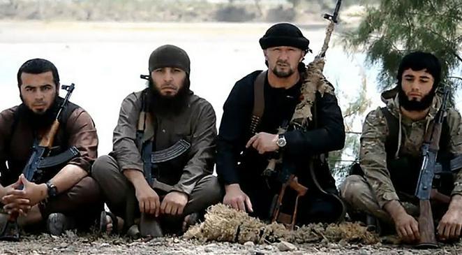 Гвардейцы халифа Багдади